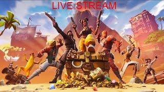 Fornite [Live Stream] [NOOB]