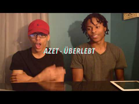 AZET - ÜBERLEBT REACTION w/ FREESTYLE