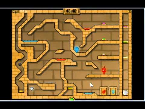 Fireboy And Watergirl 2 In Light Temple Cool Math Level 15