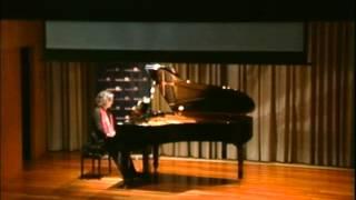 Presentación CD Música Callada de F. Mompou, en la SGAE de Barcelona. Sira Hernández, piano.