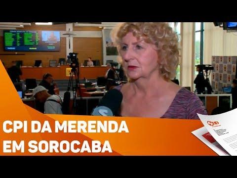CPI da merenda em Sorocaba - TV SOROCABA/SBT