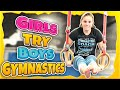 Girls Try Boys Gymnastics Challenge| Rachel Marie