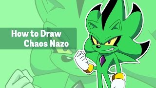 How to Draw Chaos Nazo Tutorial