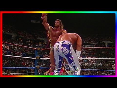 "Ultimate Warrior vs. ""Macho King"" Randy Savage: WrestleMania VII - Retirement Match thumbnail"