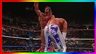Ultimate Warrior Vs Macho King Randy Savage WrestleMania VII Retirement Match