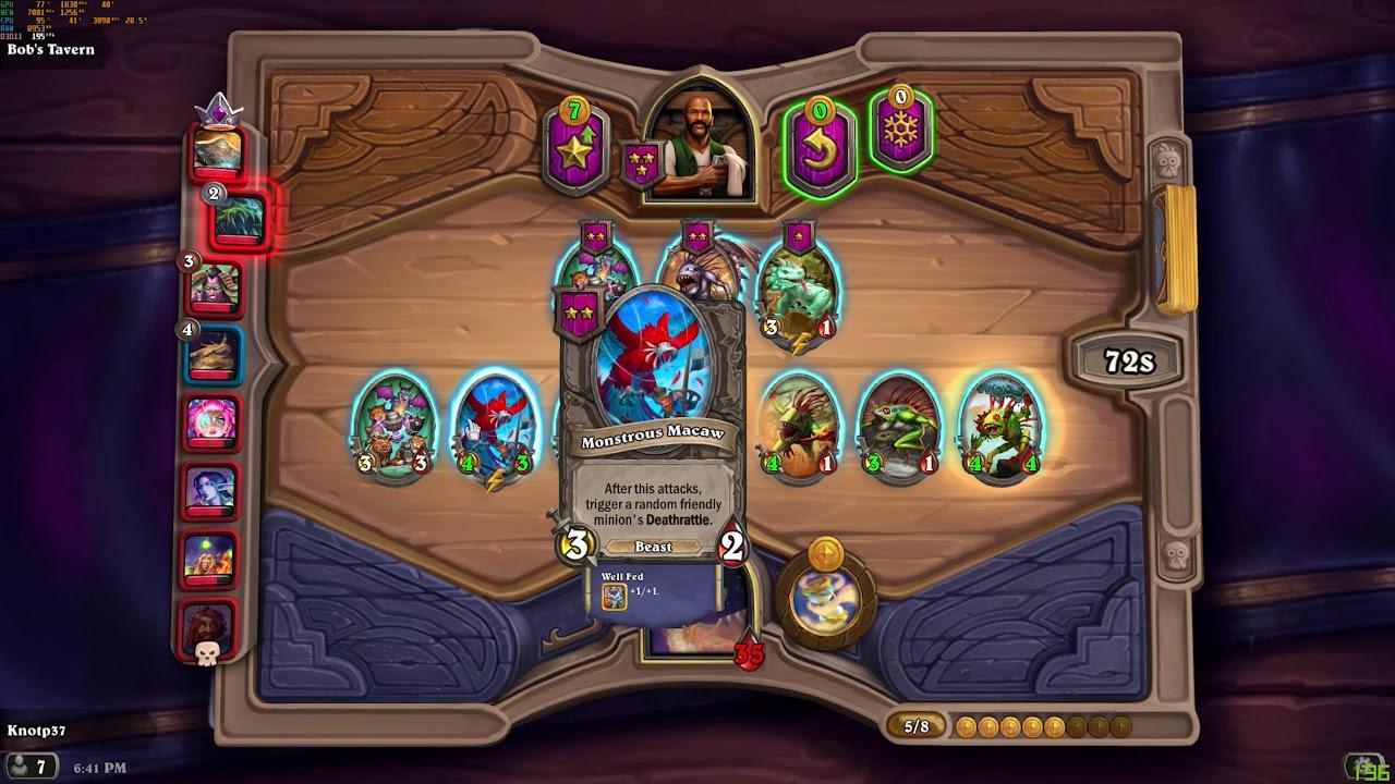 Murlocs are Good or I'm just Lucky ? - Hearthstone Battlegrounds (4k60)