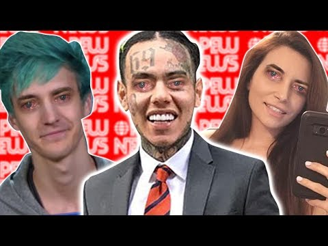 Tekashi69 BAN, Ninja caught selling underwear, Alinity facing 32 year prison.