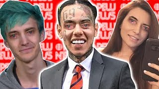 Tekashi69 BAN, Ninja caught selling underwear, Alinity facing 32 year prison.  📰 PEW NEWS📰