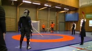 Matthys Kool vs Robert Bjurshagen sabre pool Swordfish 2014