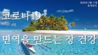 2020년 3월 11일 홍영선 건강강의|코로나19, 면…