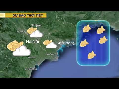 Bản tin dự báo thời tiết cực ngon cùng Đông Nhi