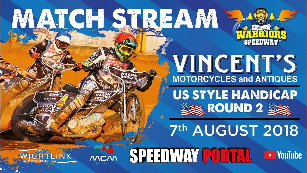 Vincent's Motorcycle & Antiques Handicap Individual : Round 2 : 07/08/2018