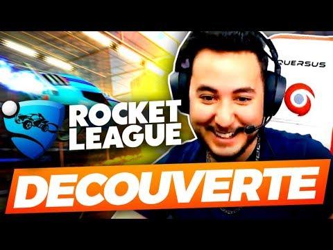 DECOUVERTE DE ROCKET LEAGUE ! (ft. Yannou & Mickalow)