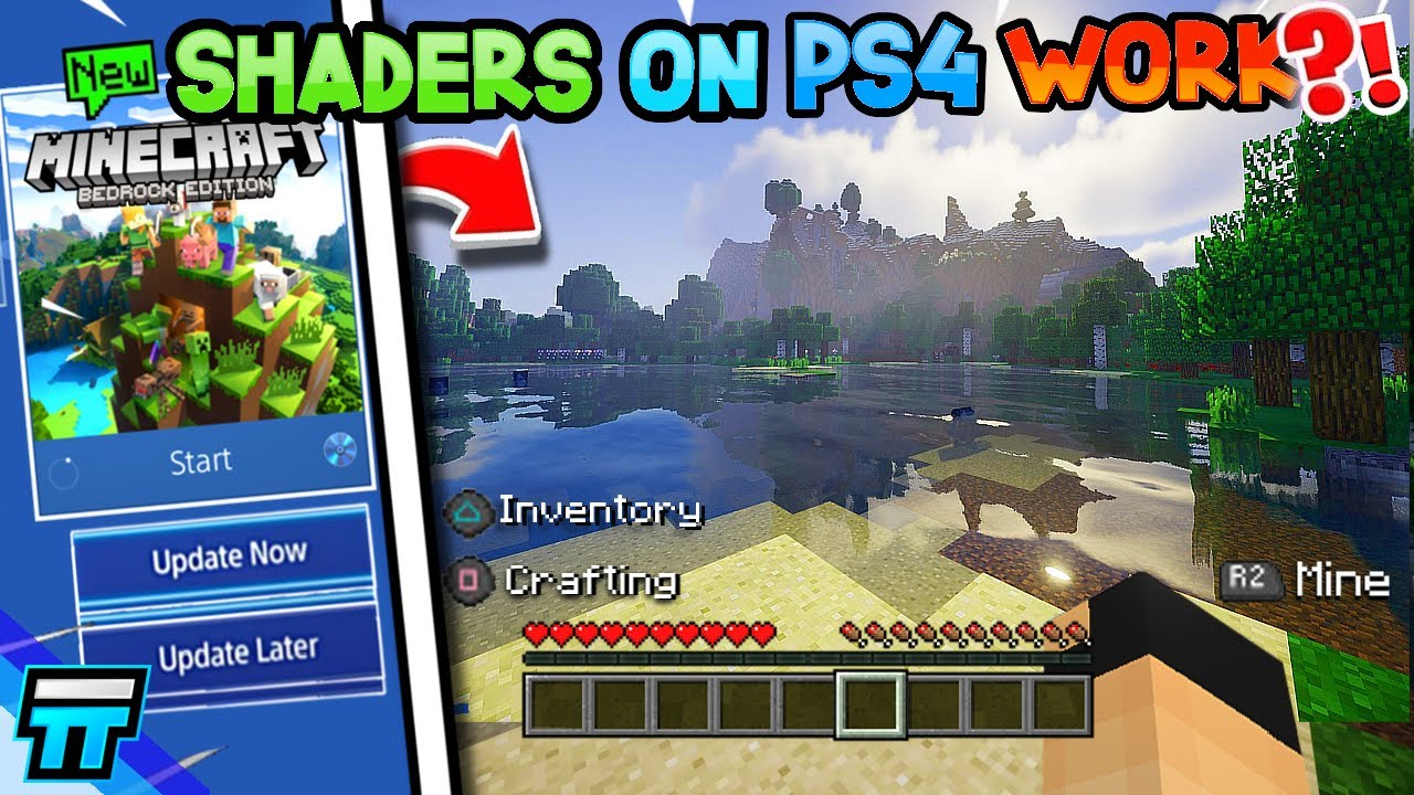 Do Shaders Work on Minecraft PS4 Bedrock   How To Get Shaders on