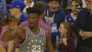 Jimmy Butler Shocks Sixers Crowd and Brings Them To Their Feet In Home Debut! Sixers vs Jazz