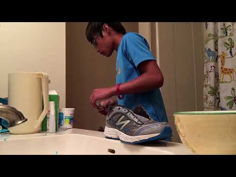 Shoe Cleaning (New Balance) ~ #1