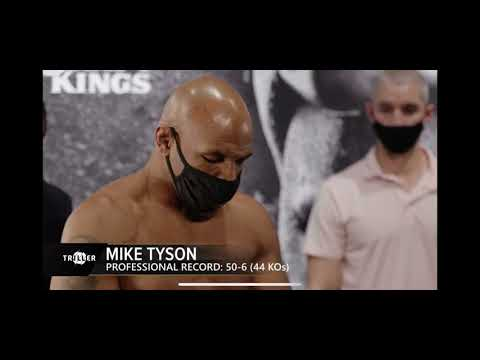 Download Roy Jones Jr vs Mike Tyson Weigh In and Face Off