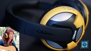 Oblanc NC2-3 UFO Wireless Headphones Review (1st on YouTube)
