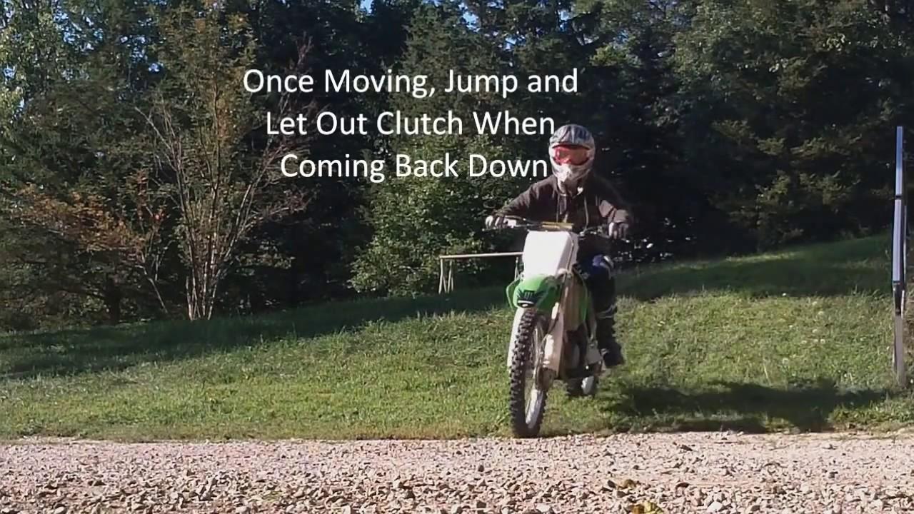 How To Push Start A Dirt Bike