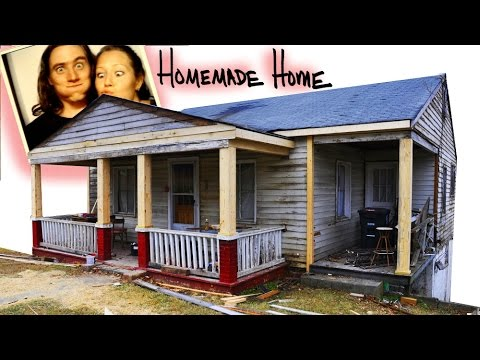 Building Simple Box Columns - DIY Front Porch Home Improvement!