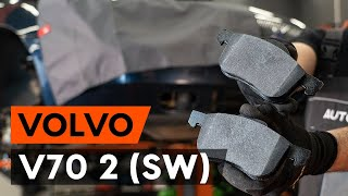 Hvordan bytte Bremsebelegg VOLVO V70 II (SW) - online gratis video