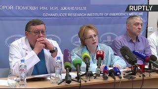Заявление Скворцовой о состоянии пострадавших при взрыве в метро Петербурга