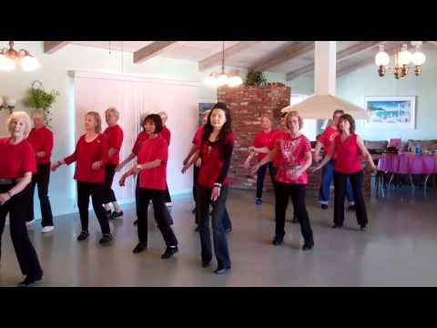TENNESSEE WALTZ - LINE DANCE - LEVEL: BEGINNER