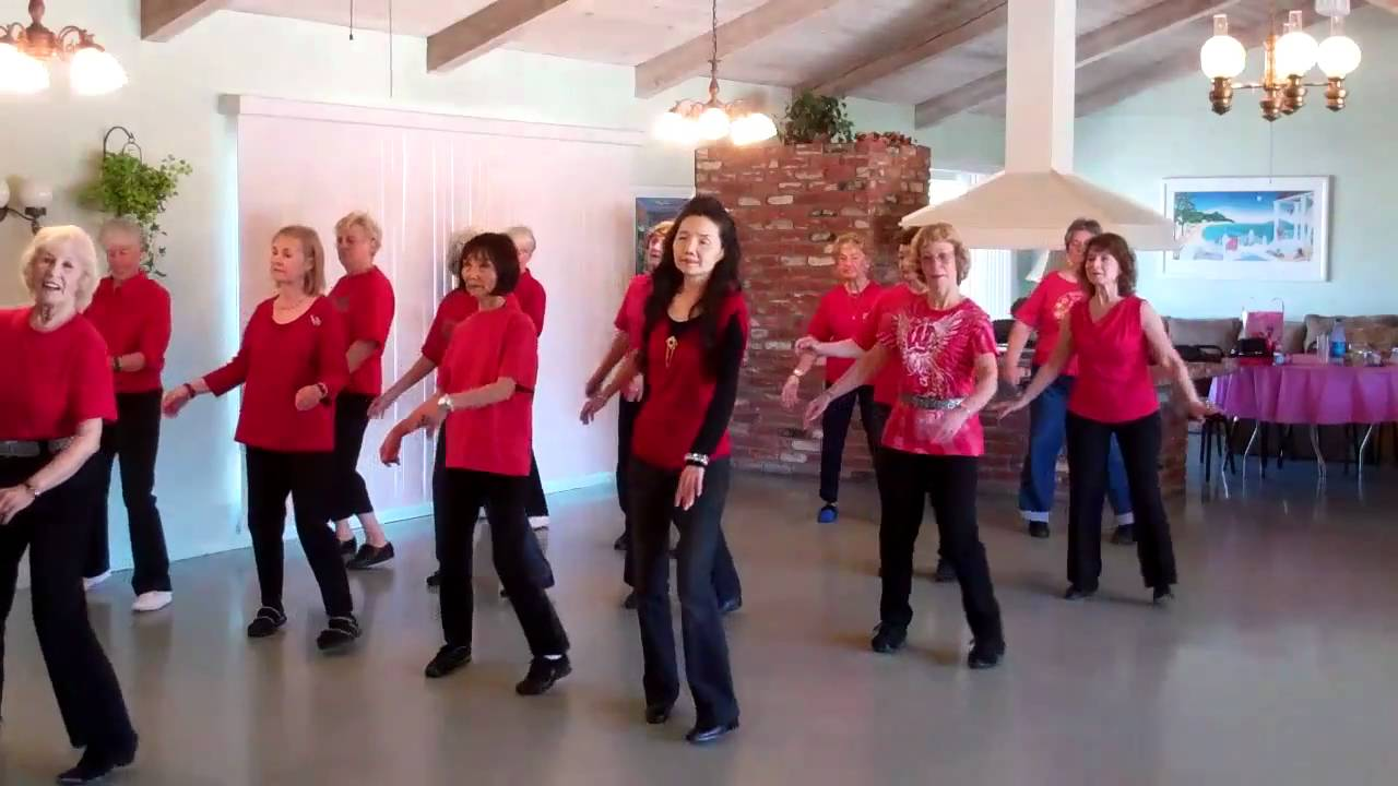 Tennessee Waltz Line Dance Level Beginner Youtube Steps Diagram