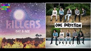 The Killers vs. One Direction - Steal My Human