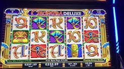 Bonus on Cleopatra Deluxe max bet