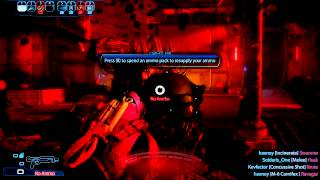 Mass effect 3 Multiplayer round 12  PC Silver Reaper mantis ^ Close call at end