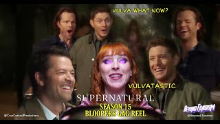 Supernatural Season 15 Gag Reel Bloopers