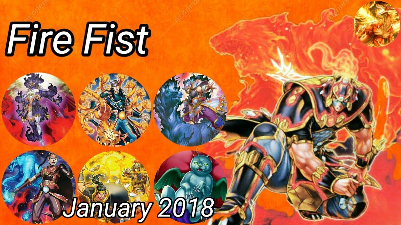 Fire Fist Deck (January) 2018 - YouTube