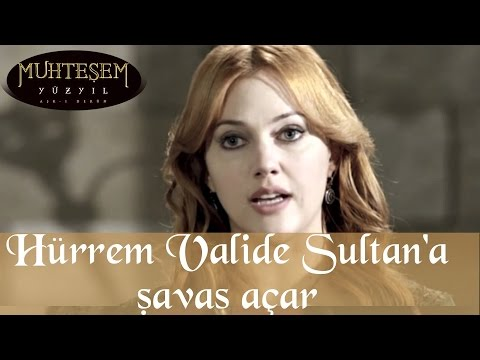 Hürrem Valide Sultan'a Savaş Açar - Muhteşem Yüzyıl 33.Bölüm