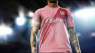 #fcbarcelona, #nike and #pes2019 present fcb's new third kit. aerial imagery provided by google earth. esrb rating: everyone visit the pes 2019 website for a...