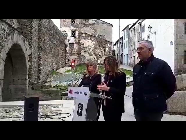 Lara Méndez, anuncia la intención del Concello de hacerse con los bajos de la Xunta en A Tinería