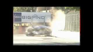 BMW M3 Looses Brakes at 200kph and Crashes into Wall