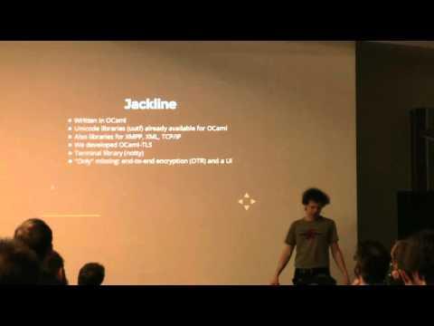 BOB 2016 - H. Mehnert - Jackline, a secure instant messaging application