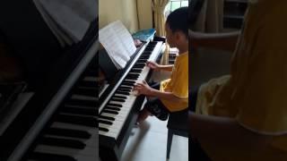 janjimu seperti fajar pagi hari piano