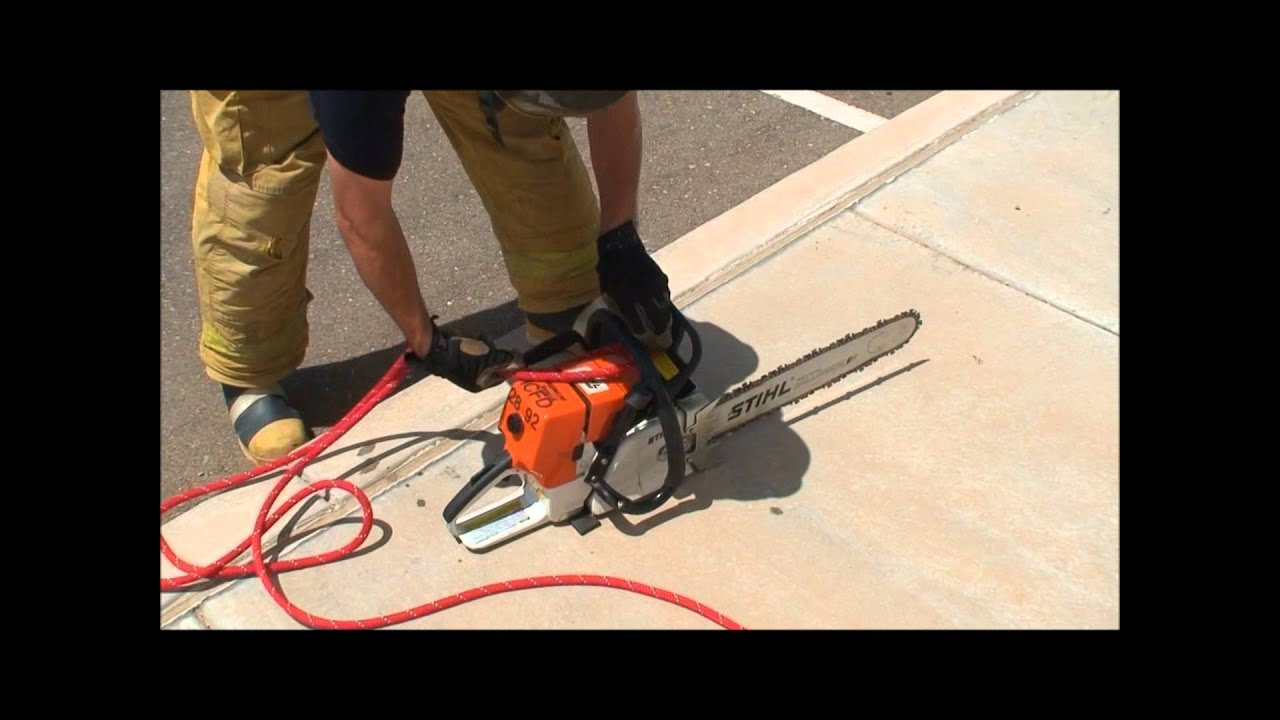 How To Hoist Firefighter Tools Youtube