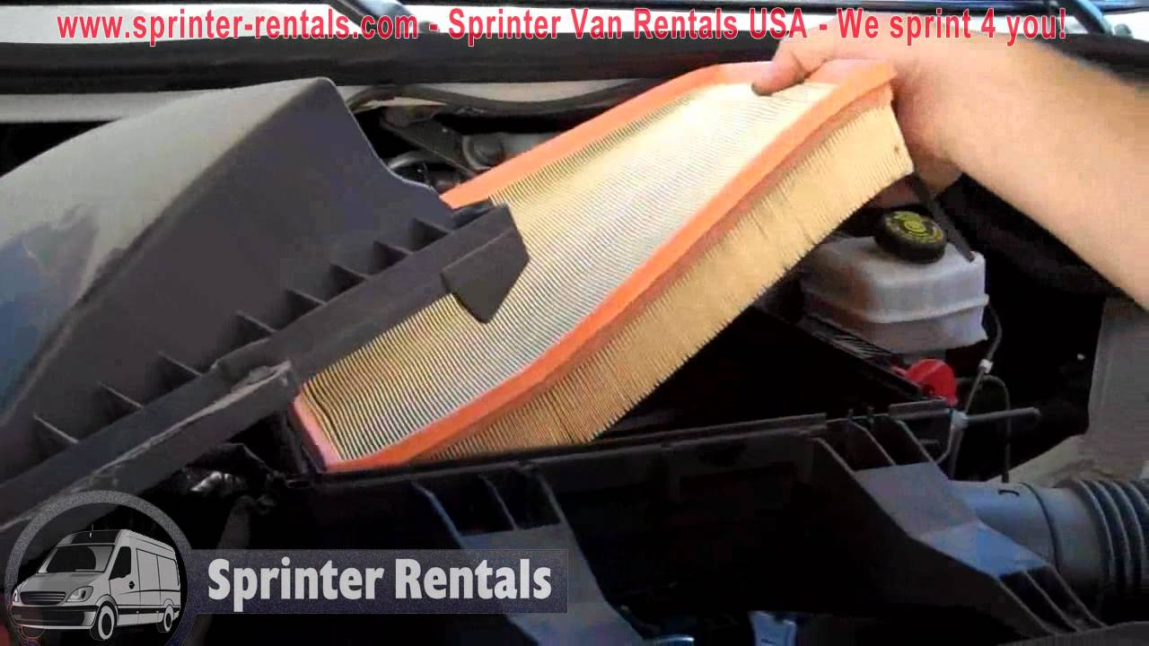 mercedes diesel fuel filters mb sprinter van air filter check how to change the air  mb sprinter van air filter check how to change the air