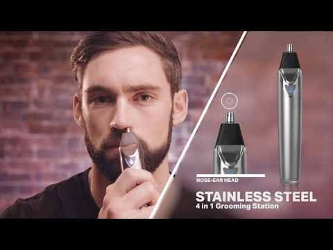 Wahl Lithium Ion Trimmer from YouTube · Duration:  8 minutes 14 seconds
