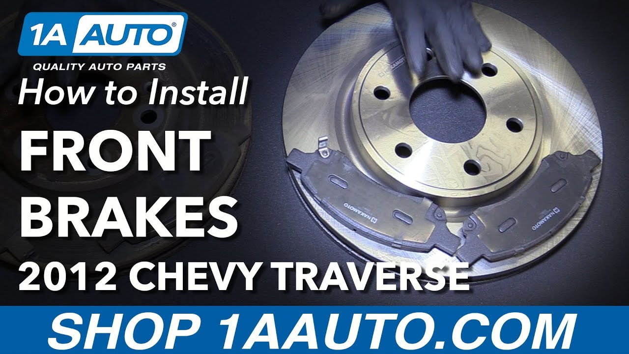 2015 2016 For Chevrolet Traverse Front Disc Brake Rotors and Ceramic Pads
