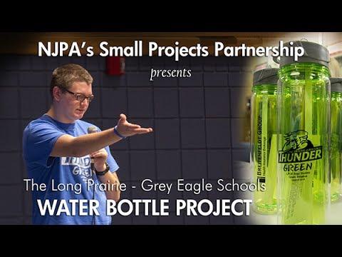 "The Long Prairie - Grey Eagle Schools ""Water Bottle Project"""