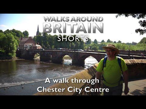 A Walk Around Chester City Centre - Walks Around Britain Shorts