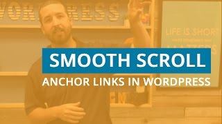 How to Smooth Scroll Anchor Links in WordPress