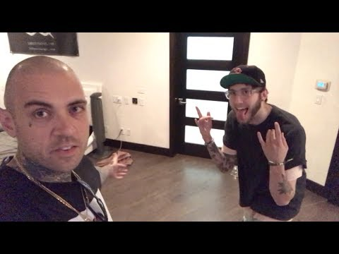I WENT TO FaZe BANKS AND RICEGUM'S HOUSE