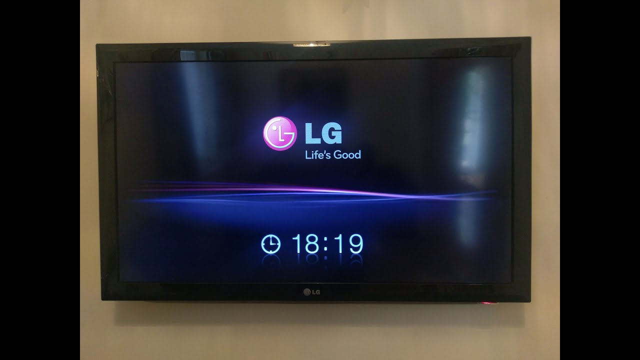 LG TV Stuck on startup screen- Repair- LG Life's Good