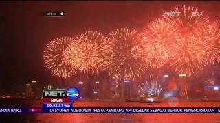 Perayaan Tahun Baru dengan Memadukan Kembang Api & Musik di Hongkong - NET24