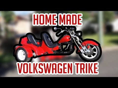 Homemade Volkswagen trike - 7 year long project